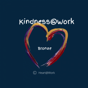 Become A Kindness @ Work Bronze Sponsor